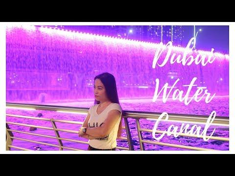 Dubai Water Canal 2018 l Most Beautiful Canal l Rizzy Dec
