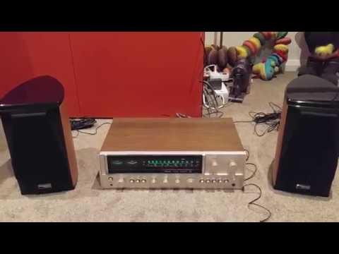 Vintage Sansui 881 Stereo Receiver Demo