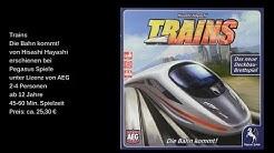 Trains Die Bahn kommt! von Pegasus Spiele- Review / Test - Die Brettspieltester