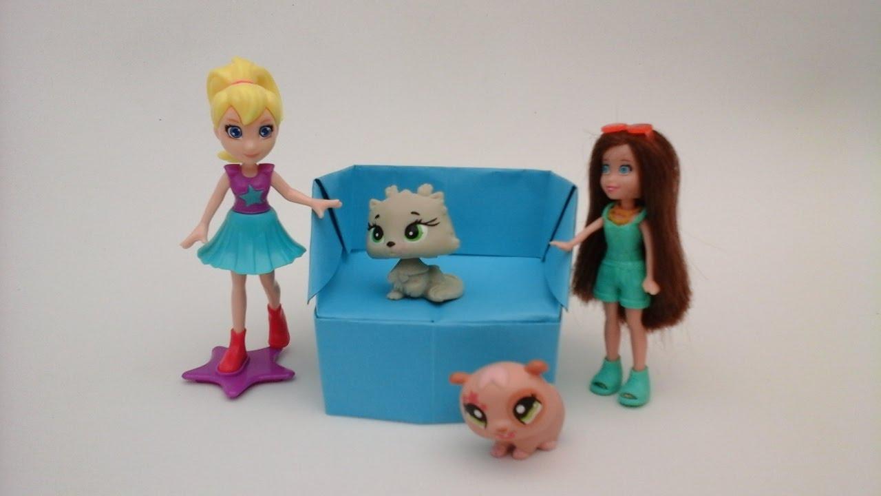 Como hacer un sillon individual de papel para barbies - Cosas para la casa de barbie ...