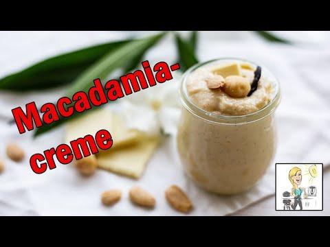 Macadamiacreme Brotaufstrich Mit Dem Thermomix Youtube