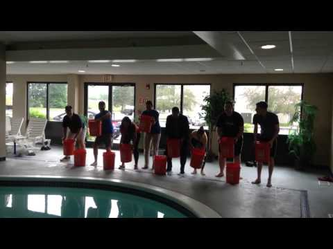 Hampton Inn Fishkill, NY - ALS Ice Bucket Challenge