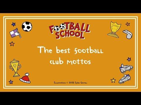 Whatta lotta mottos: the best football club mottos | Football Facts | #FootballSchool