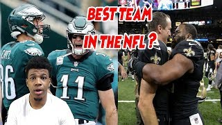 SAINTS OR EAGLES ? WHO IS THE BEST TEAM IN THE NFL ?