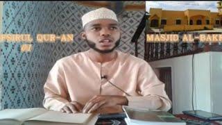 SHEIKH MUHAMMAD NASSOR BACHU--KUTANGULIZA MATENDO KWA AJILI YA KESHO