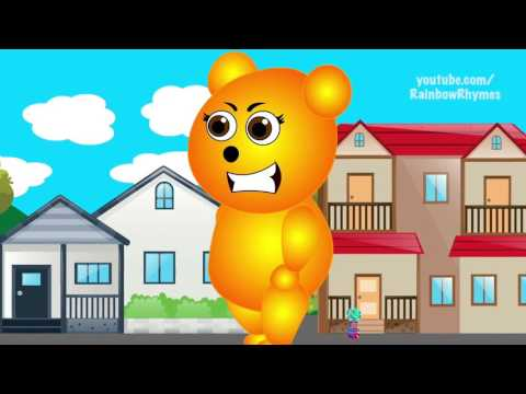 Mega Gummy Bear Horror Scary Scream Movie Funny Cartoon Finger Family Nursery Rhymes 2