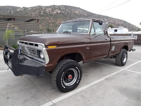 73 ford f250 factory highboy 360 v8 custom off road f 250 4x4 for 73 Ford Truck 73 ford f250 factory highboy 360 v8 custom off road f 250 4x4 for sale video review