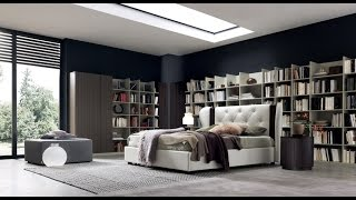 Sma Mobili Spa Modern Upholstered Beds