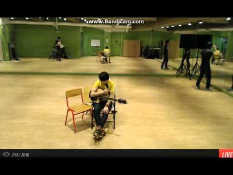 [130501] Jihoon singing ' Introduce me to your noona- NU'EST'