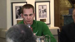 2012 Millrose Games Jesse Williams Press Conference