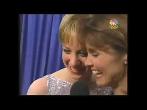 Sarah Hughes - Reaction to Gold Medal & Premonition (Olympics Salt Lake City 2002)