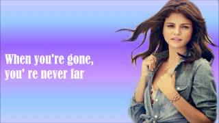Write Your Name-Selena Gomez (Lyrics Video)