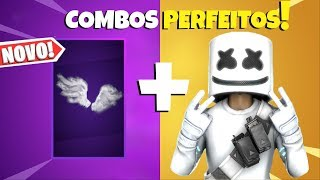 5 BEST SKINS COMBOS with the PERFECT WINGS of the Dark Legends Pack-Fortnite/Backpacks