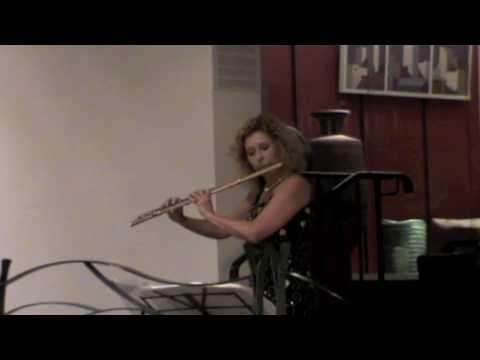 Jane Rutter Partita for solo flute 1st movt Prelude