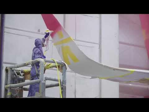 Canadian North, Boeing 737-300 Repainting Timelapse