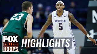 Northwestern vs Chicago State | Highlights | FOX COLLEGE HOOPS