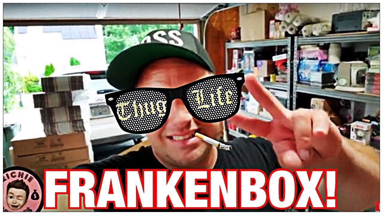 What To Do When Your Box Is Bigger Than The Products That Are In It? Create A FRANKENBOX!!