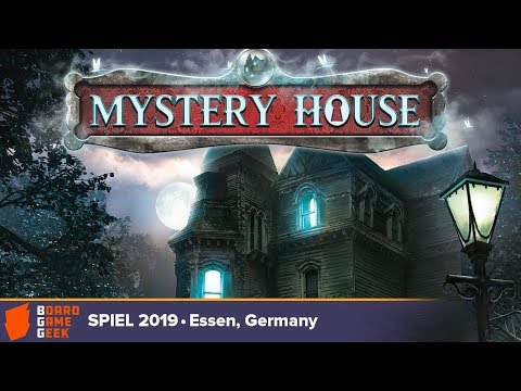 Mystery House: Adventures In A Box - Game Overview At SPIEL 2019