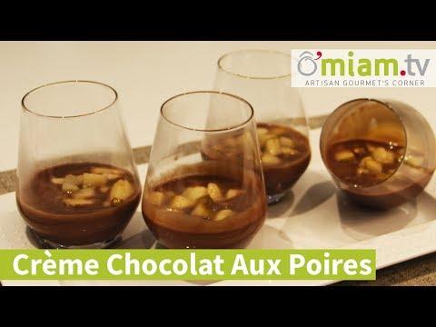 dessert-🍐-verrine---crème-chocolat-au-lait-&-poires-&-noix