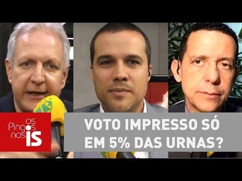 Debate: Voto Impresso Só Em 5% Das Urnas?