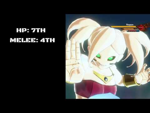 Dragonball Xenoverse 2 Race Rankings