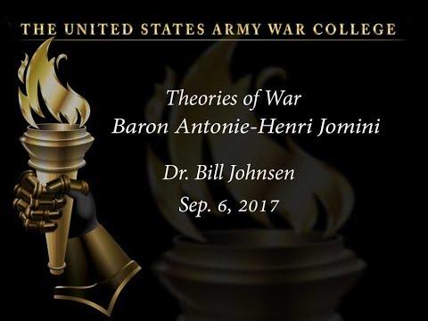 Baron Antonie-Henri Jomini, Theories of War