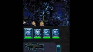 Aliens: Infestation DS stage 1 boss fight