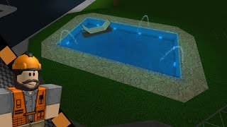 [Roblox: Bloxburg] | How to build a pool on other floors | Tutorial (Idea for Bloxburg)