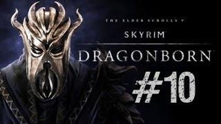 Let's Play Skyrim: Dragonborn DLC (Modded) Part 10 - NPC's, Exploration & Castle Karstaag Caverns