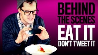 Eat It Don't Tweet It - Behind The Scenes | American Hipster + Key of Awesome