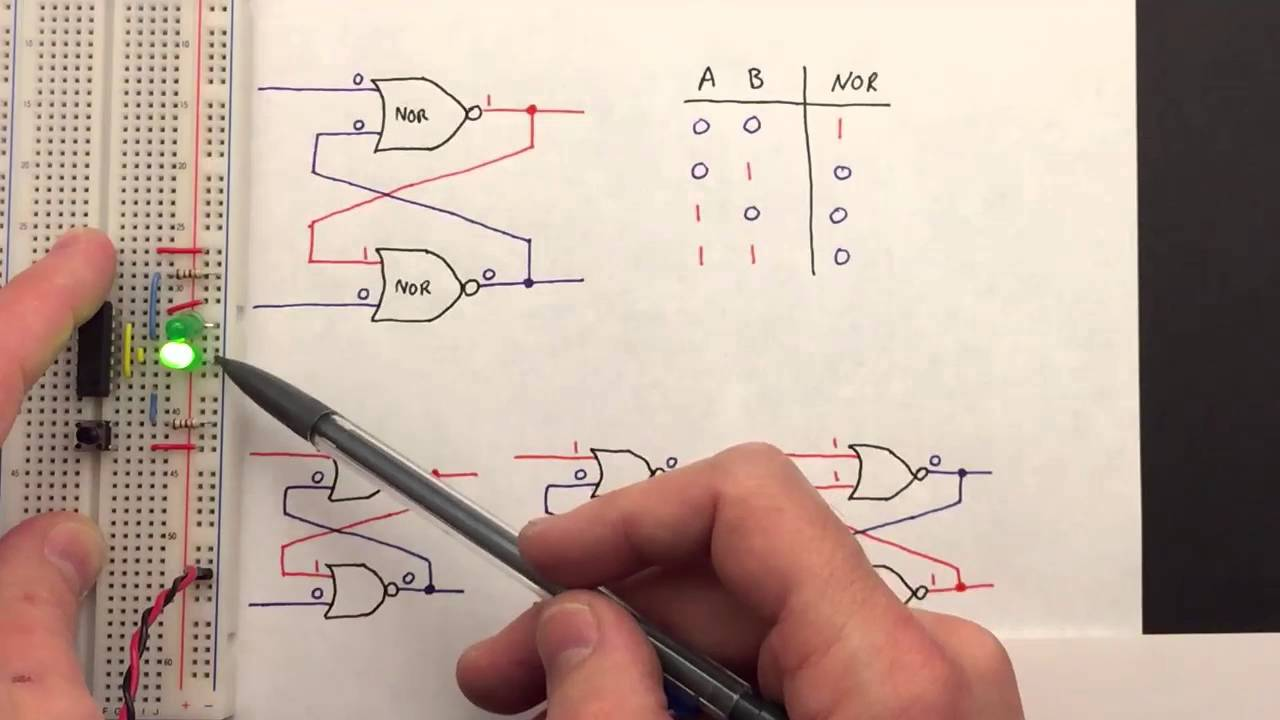 sr circuit diagram [ 1280 x 720 Pixel ]