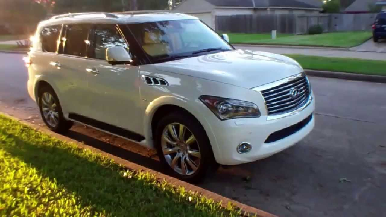 2014 infiniti qx80 walkaround with in wheel time youtube. Black Bedroom Furniture Sets. Home Design Ideas