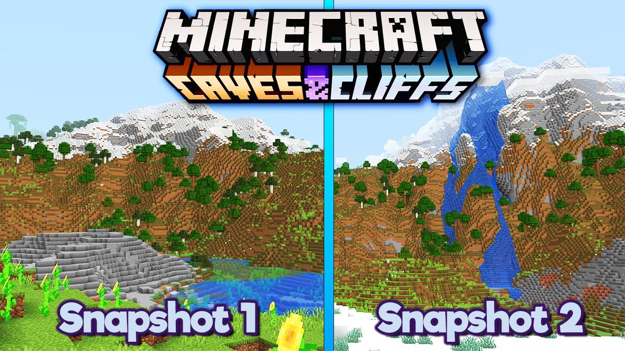 What's Changed in Experimental Snapshot 2? ▫ Minecraft 1.18 Caves & Cliffs Update