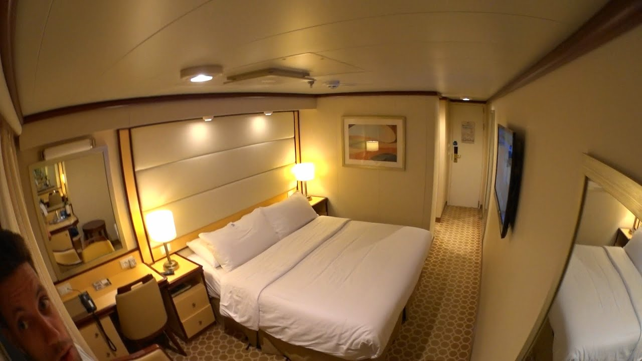 Royal Princess Deluxe Balcony Stateroom Tour In 1080p
