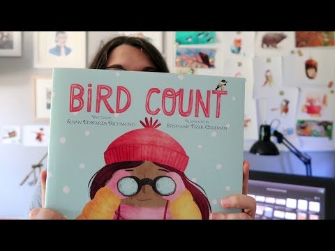 Bird Count - Children's Book Illustration Process