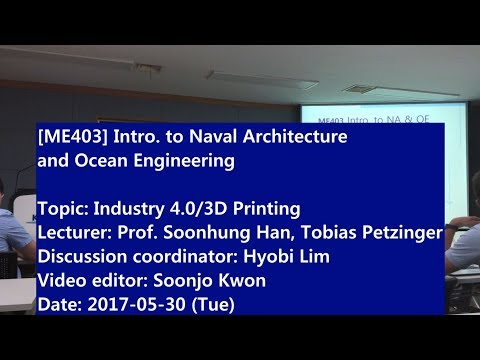 Introduction to Naval Architecture and Ocean Engineering : Industry 4.0/3D Printing