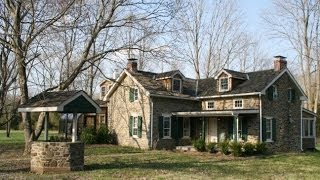 Liberty Farm Stone House on 14.7 acres in Upper Bucks County PA