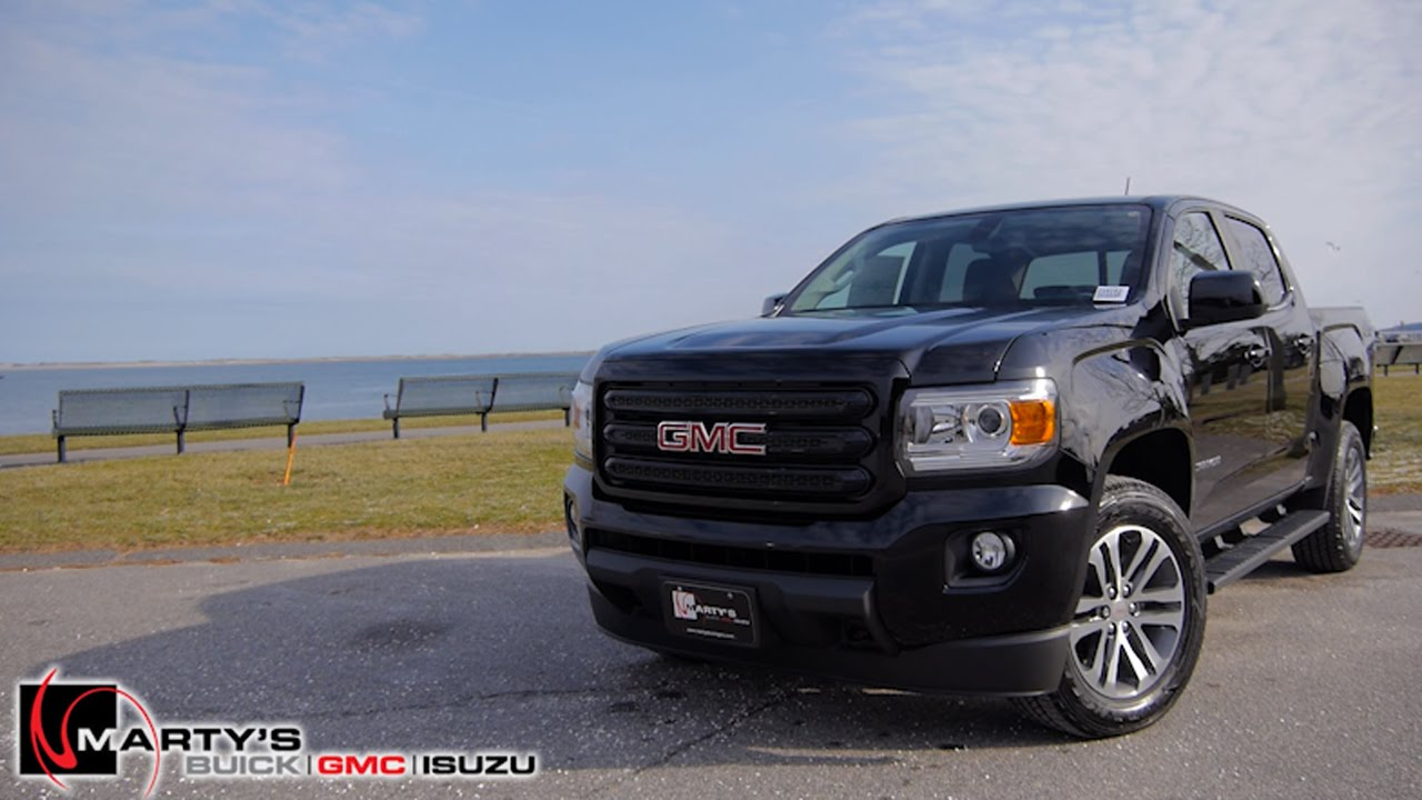 2016 Gmc Canyon Nightfall Edition This Is It Youtube