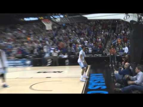 Carolina Basketball: J.P. Tokoto Dunks over Joel James