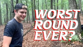 The Worst Disc Golf Round Ever?