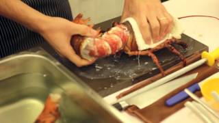 An Audience With The King Of Seafood: Canadian Atlantic Lobster Demo