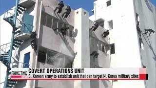 S. Korea to establish covert unit targeting N. Korea′s key military facilities