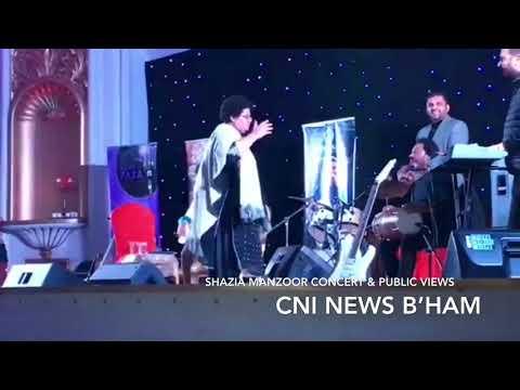 Shazia Manzoor concert B'ham & Mismanagement video report:CNI News