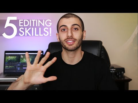 The 5 Skills You Need to Be a Successful Video Editor