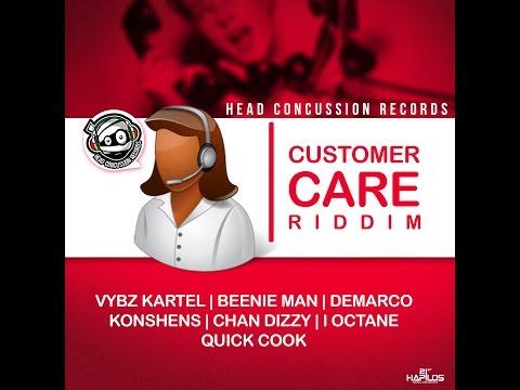 CUSTOMER CARE RIDDIM MIX FT. VYBZ KARTEL, DEMARCO & MORE {DJ SUPARIFIC}