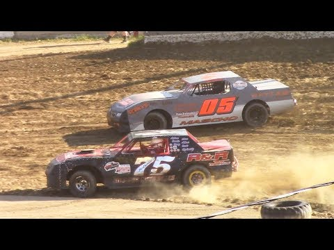 Pure Stock Heat One | Old Bradford Speedway | 6-11-17