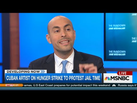 HRF's Javier El-Hage on MSNBC: President Obama could save El Sexto's life