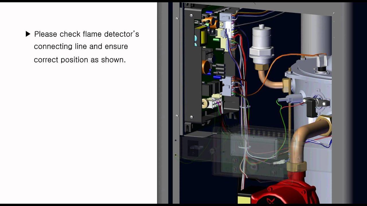 Error Code 11 On The Eftc 140f Youtube White Rodgers Mercury Thermostat Wiring Premium