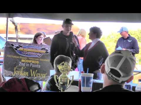 Jordan Wever Bloomington Speedway