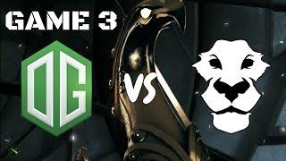 OG vs Ad Finem GAME 3 EPIC BASE RACE GRAND FINAL HIGHLIGHTS